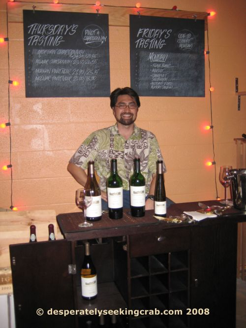 Andre Lopez on Tasting Night