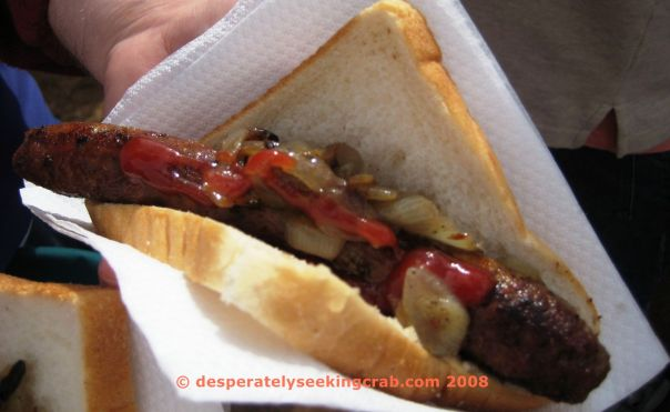 Image result for aussie sausage on bread