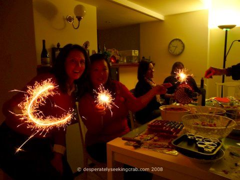 Sparklers in My Living Room!!
