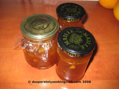 The Finished Product in Various Jars