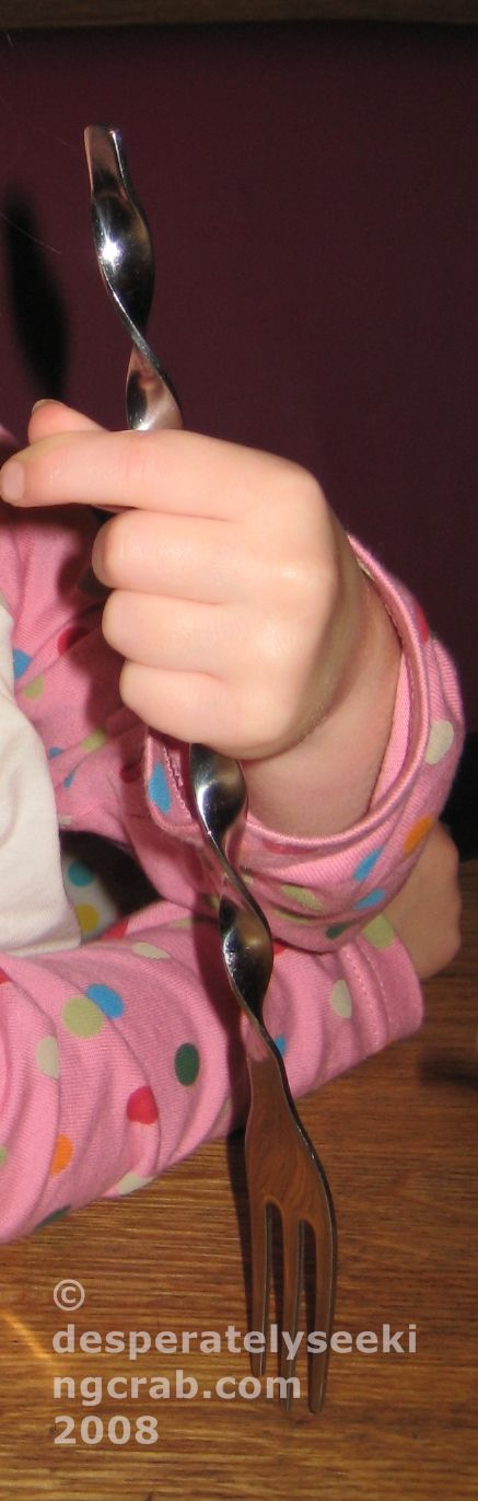 Kids Twirly Fork