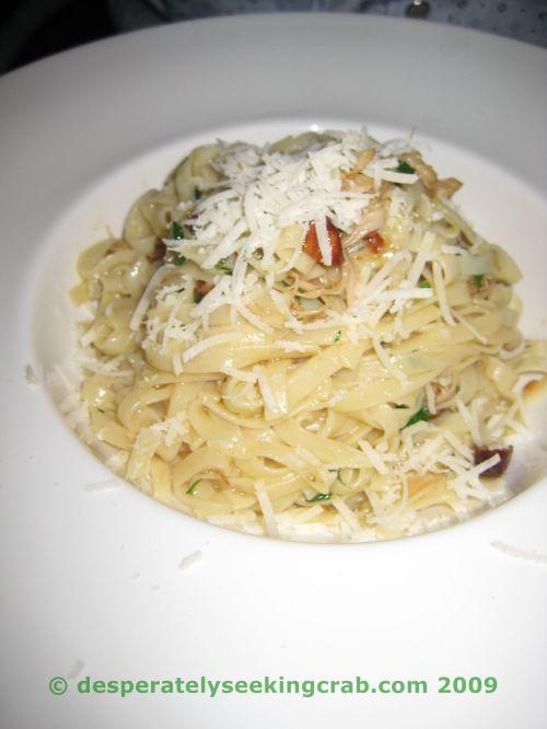 Sparrow's Rabbit Pasta
